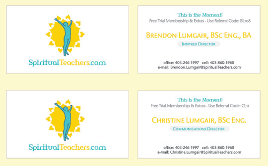 Spirutualteachers Corporate Brand Logo And Business Cards